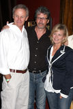 Mary Beth Evans, Mary-Beth Evans, Tristan Rogers, Charles Shaughnessy Royalty-vrije Stock Afbeeldingen