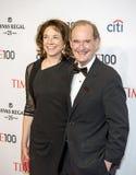 Mary Boies und David Boies Stockfotos
