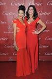 Mary Bono & Chianna Maria Bono Royaltyfri Foto