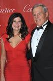 Mary Bono & Steve Oswald Arkivfoton