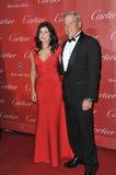 Mary Bono & Steve Oswald Royaltyfri Fotografi