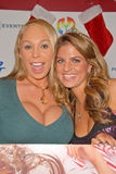 Mary Carey,Bridgetta Tomarchio. Mary Carey and Bridgetta Tomarchio at Bridgetta Tomarchio B-Day Bash and Babes in Toyland Toy Drive, Lucky Strike, Hollywood, CA stock images