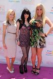 Mary Carey,Paula LaBaredas,Vikki Lizzi,Marie Carey Stock Images