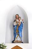 Mary and Child in historical church of Singapore Royalty Free Stock Photos
