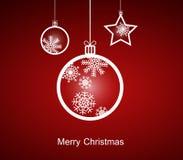 Mary Christmas. Royalty-vrije Stock Afbeeldingen