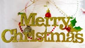 Mary Christmas El día de fiesta del Año Nuevo Fotografía de archivo libre de regalías