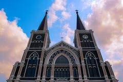 Mary Church em Tailândia imagens de stock