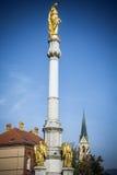 Mary Column Zagreb Fotografia Stock Libera da Diritti