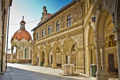 Mary d'architecture de tombeau de Bistrica photos stock