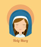 Mary design Royalty Free Stock Photography