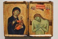 Mary e Jesus immagini stock