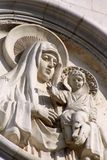 Mary e Jesus santi Fotografia Stock