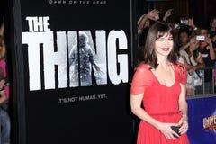 Mary Elizabeth Winstead. At The Thing World Premiere, AMC Citywalk Stadium 19, Universal City, CA 10-10-11 Stock Image