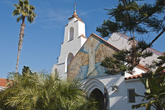 Mary, estrela da igreja do mar Imagem de Stock