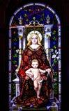 Mary et Jésus Photos stock
