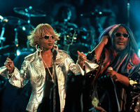 Mary J Blige and George Clinton Royalty Free Stock Photos