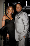Mary J. Blige and Kendu Isaacs Stock Photo