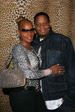 Mary J. Blige and Keundu Isaacs Stock Photos
