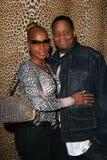 Mary J. Blige och Keundu Isaacs royaltyfri bild