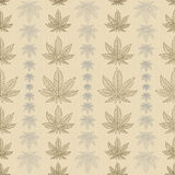 Mary Jane pattern brown grey Stock Image