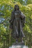 Mary Jemison Statue Stockbilder
