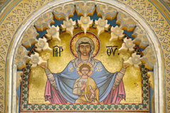 Mary and Jesus Stock Photos
