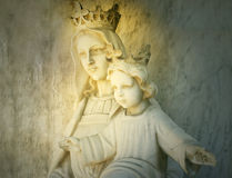 Mary and Jesus Royalty Free Stock Photos