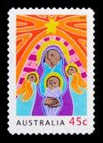 Mary Jesus Angels, serie 2003 do Natal, cerca de 2003 imagens de stock royalty free