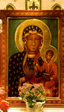 Mary Jesus Icon St. Patrick's Cathedral stock photos