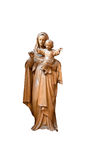 Mary and Jesus Statue Royalty Free Stock Photo