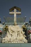 Mary jezusa posąg Fotografia Royalty Free