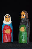 Mary and Joseph Stock Image