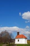 Mary-kapel in Visegrad royalty-vrije stock afbeeldingen