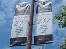 Mary Kay Seminar Attendee i Dallas Royaltyfri Foto