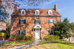 Mary Lizora Fortune Hanes House at Salem College Royalty Free Stock Photography