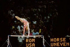 Mary Lou Retton. United States Olympic legend Mary Lou Retton. (Image from color scan stock photos