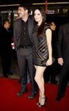 Mary-Louise Parker e Jeffrey Dean Morgan Imagem de Stock