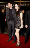Mary-Louise Parker and Jeffrey Dean Morgan. Jeffrey Dean Morgan and Mary-Louise Parker attend the World Premiere of `P.S. I Love You` held at the Grauman`s Stock Image