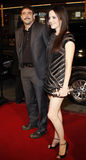 Mary-Louise Parker and Jeffrey Dean Morgan. Jeffrey Dean Morgan and Mary-Louise Parker attend the World Premiere of `P.S. I Love You` held at the Grauman`s Stock Photography