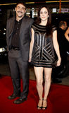 Mary-Louise Parker and Jeffrey Dean Morgan. 12/9/2007 - Hollywood - Mary-Louise Parker and Jeffrey Dean Morgan attend the World Premiere of `P.S. I Love You` Stock Images