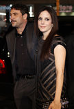 Mary-Louise Parker and Jeffrey Dean Morgan Royalty Free Stock Photos
