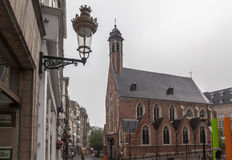Mary Magdalen Church Brussels Royalty Free Stock Image