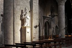 Mary Magdalen San Lorenzo Church Palermo Royalty Free Stock Photo
