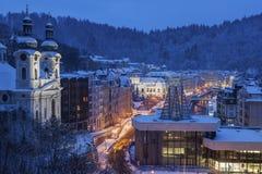 Mary Magdalene Church em Karlovy varia imagem de stock royalty free