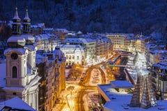 Mary Magdalene Church em Karlovy varia Fotos de Stock Royalty Free