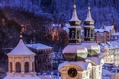 Mary Magdalene Church in Karlovy Vary Royalty Free Stock Images