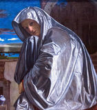Mary Magdalene(about 1535-1540) by Giovanni Girolamo Savoldo at the National Gallery of London. Royalty Free Stock Photography