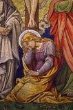 Mary Magdalene-mozaïek stock illustratie
