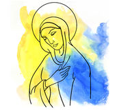 Mary Magdalene Stock Photo