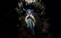 Mary, matriz de Jesus fotos de stock royalty free